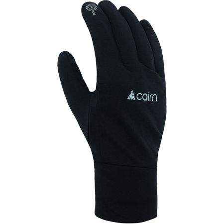 Picture of RUKAVICE CAIRN SOFTEX TOUCH BLACK