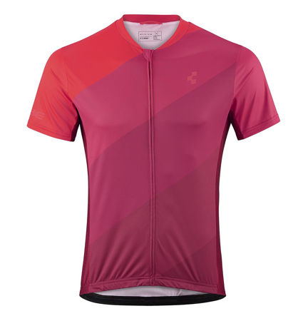 Picture of MAJICA CUBE TOUR FULL ZIPP S/S RED PATTERN 11276