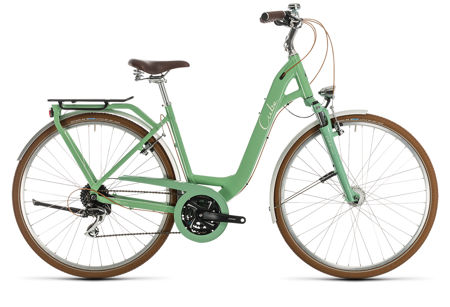 Picture of CUBE ELLA RIDE GREEN´N´CREAM EASY ENTRY 2020