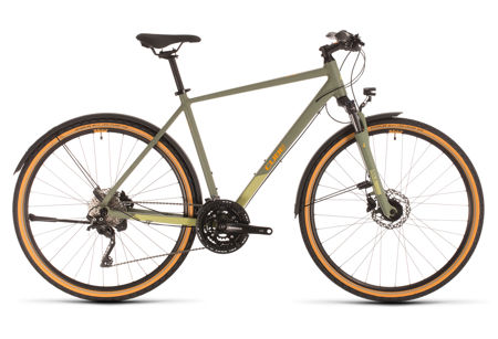 Picture of CUBE NATURE EXC ALLROAD GREEN´N´ORANGE 2020