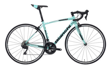 Picture of BIANCHI NIRONE 7 ALU 105 11S 1D-CK16/BLACK