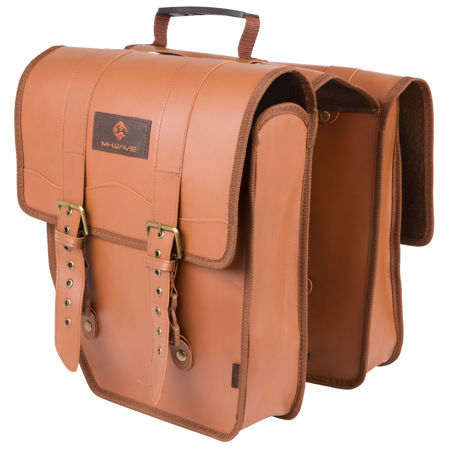 Picture of BISAGE M-WAVE AMSTERDAM DOUBLE L 15L BROWN 122317