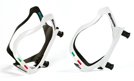 Picture of NOSAČ BIDONA BIANCHI CARBON S 3K/UD WHITE
