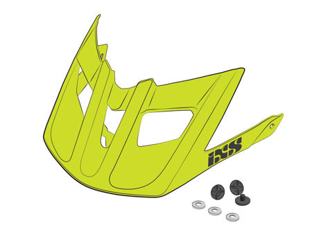 Picture of ŠTITNIK ZA KACIGU VISOR IXS X-TRAIL RS LIME XS