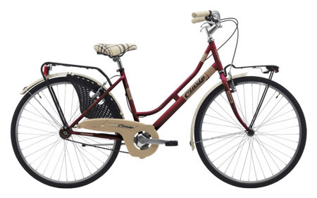 "Picture of Cinzia 26"" FRIENDLY LADY Single speed V-Brake Burgundy"