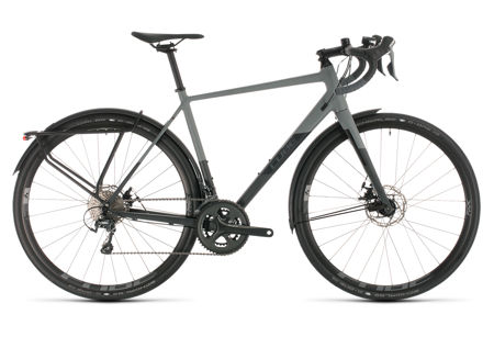 Picture of CUBE NUROAD PRO FE GREY´N´BLACK 2020