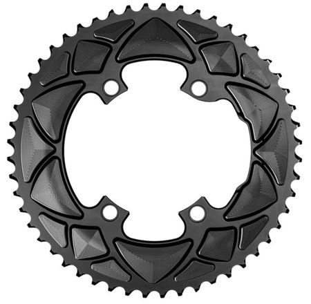 Picture of ZUPČANIK PREDNJI AB ROAD ROUND PREMIUM 2X FOR ALL SHIMANO 110/4 CRANKS / 50T / B