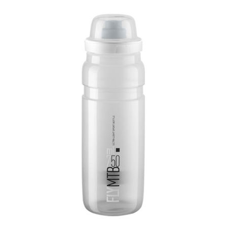 Picture of BIDON ELITE FLY MTB CLEAR 750ml GREY LOGO