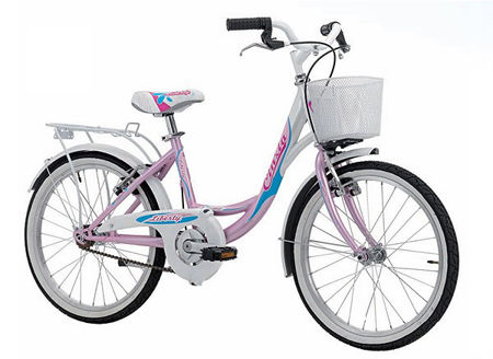 "Picture of CINZIA 20"" LIBERTY CITY GIRL PEARL LIGHT BLUE/WHITE"