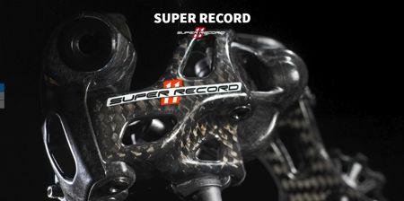 Picture of Campagnolo set SUPER RECORD 2x11