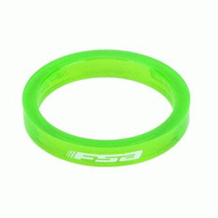 "Picture of Odstojni prsten 1 1/8"" 5mm TRANSP GREEN FSA 160-3501TG"