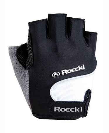Picture of Rukavice Roeckl kratki prsti NELSON Black/White
