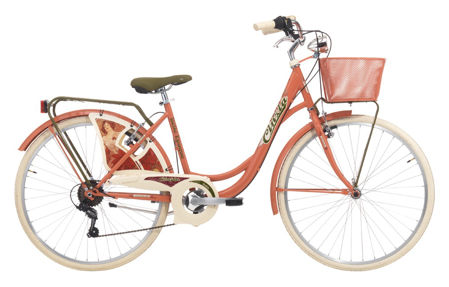"Picture of Cinzia 26"" BELLE EPOQUE Lady 6B V-Brake Rubine red"