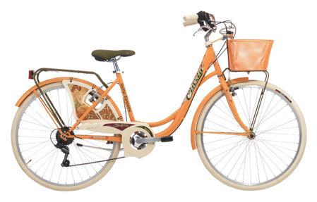 "Picture of Cinzia 26"" BELLE EPOQUE Lady 6B V-Brake Peach orange"