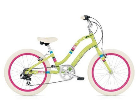 """Picture of ELECTRA TOWNIE KIDS 7D GREEN 20"""""""