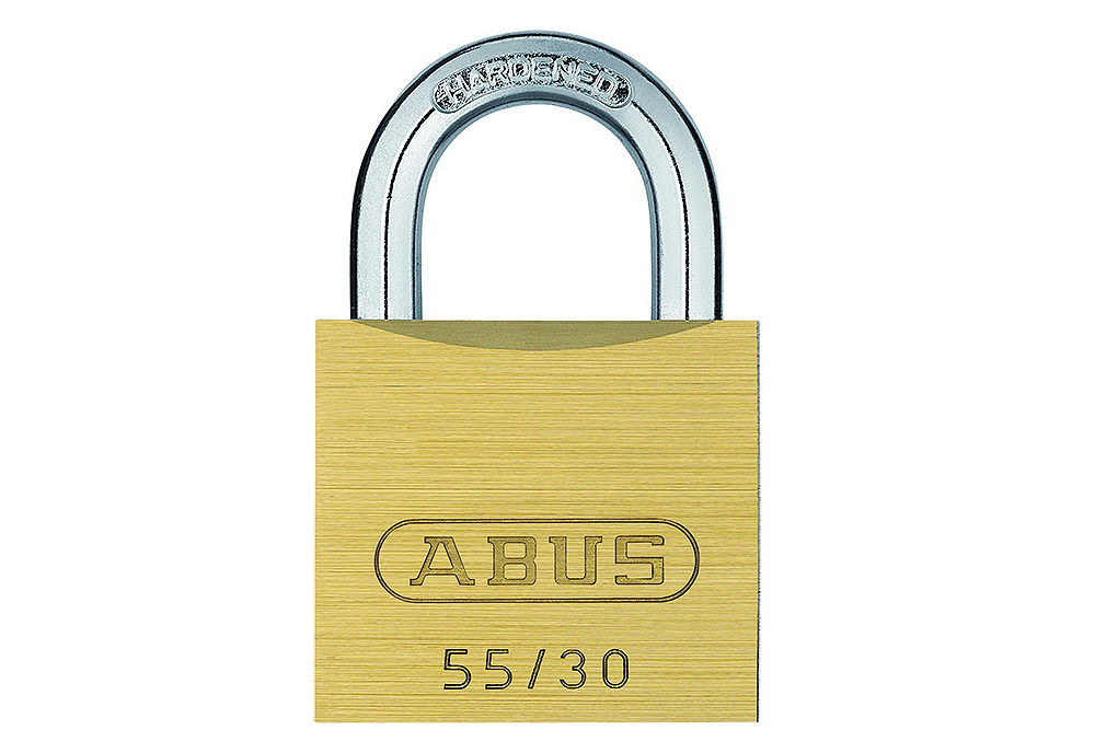 Picture of Lokot brass padlock 55/30 ABUS 02854-0