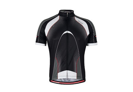 Picture of Majica REATTIVA JERSEY K/R Black Bicycle Line