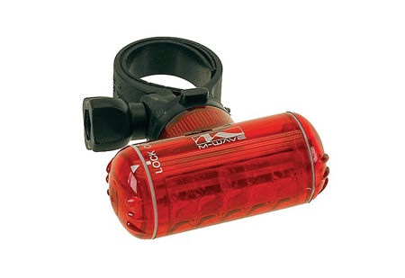 Picture of Bljeskalica M-WAVE HELIOS TURN 5LED/4 F Red MS 220688