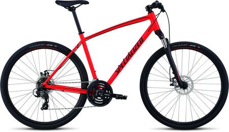 Picture of Specialized Crosstrail Mechanical Disc 2019 rocket red
