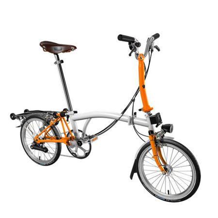 Picture of BROMPTON M6R/PW/OR/SPT/BRKM/TYM/HDSV8/FCB