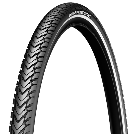 Picture of V. guma 700X35C Michelin PROTEK CROSS Blk/Reflex