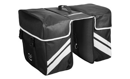 Picture of Bisage RFR REAR CARRIER BAG DOUBLE Black 14048