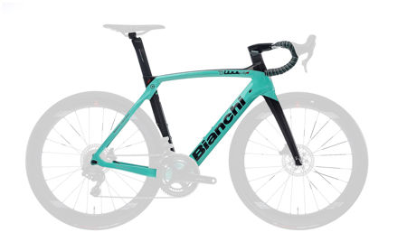 Picture of BIANCHI OLTRE XR.4 CV DISC FRAMESET 5K-CK16/BLACK