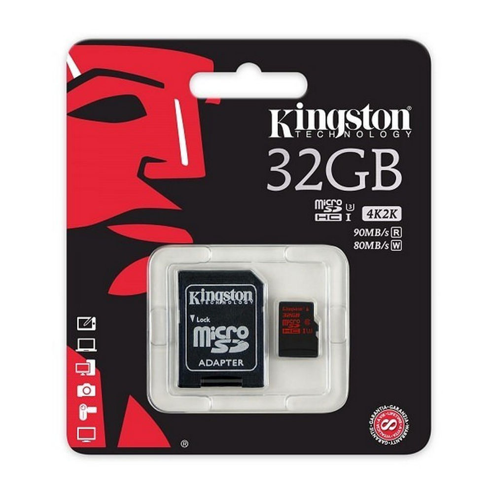 Picture of Kingstone 32GB/ 80-90 MB/sec