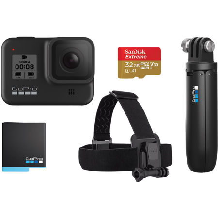 Picture of Sportska digitalna kamera GOPRO HERO8 Black Bundle