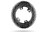 Picture of ZUPČANIK PREDNJI AB SHIMANO OVAL ROAD 2X 110/4 / 48T / BLACK
