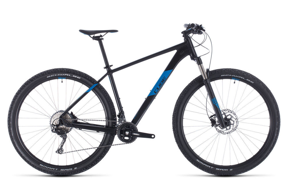 Picture of CUBE ATTENTION SL BLACK´N´BLUE 2020