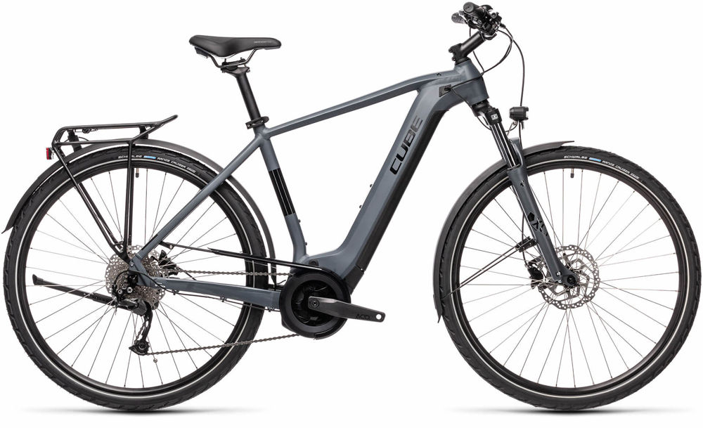 Picture of CUBE TOURING HYBRID ONE 400 GREY´N´BLACK 2021