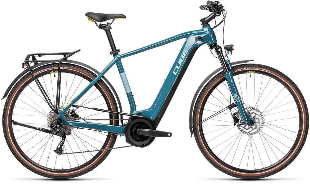 Picture of CUBE TOURING HYBRID ONE 400 BLUE´N´GREEN 2021