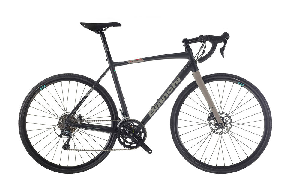 Picture of BIANCHI NIRONE ALLROAD GRX400 10SP 3C-BLACK/TITANIUM