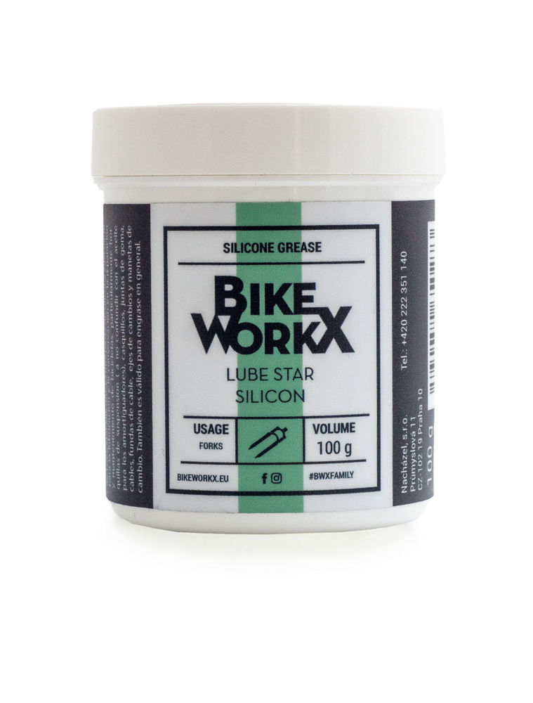 Picture of BikeWorkX Lube Star Silicone 100g