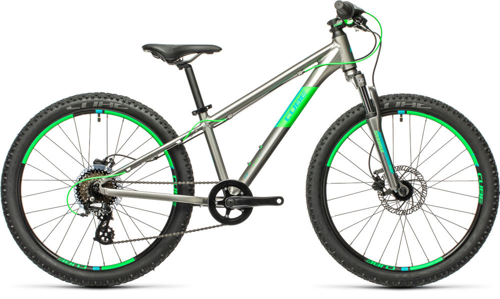 "Picture of CUBE ACID 240 DISC GREY´N´NEONGREEN 24"" 2021"