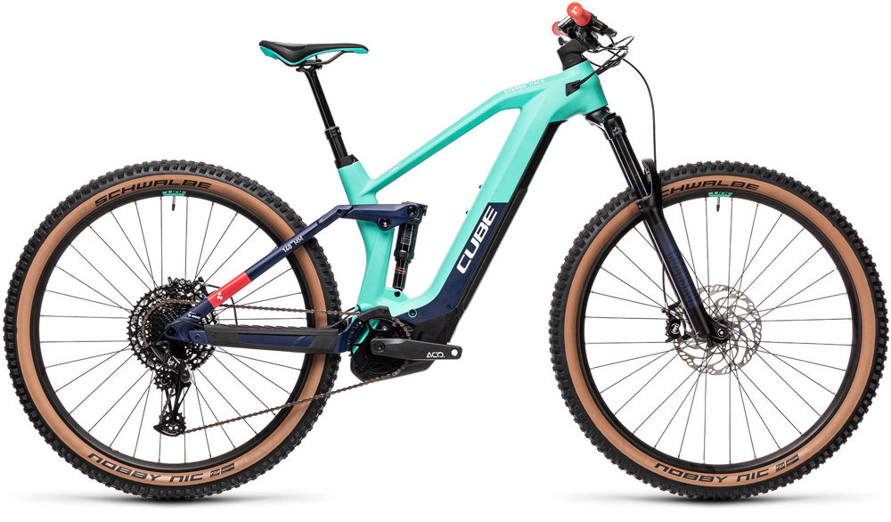 Picture of CUBE STEREO HYBRID 140 HPC RACE 625 TEAM 2021