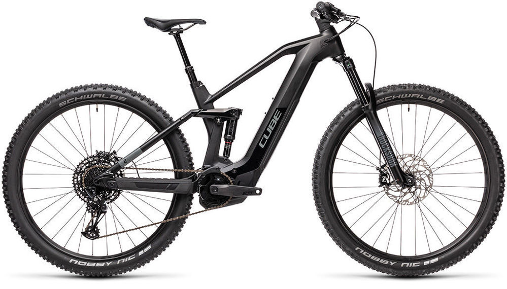 Picture of CUBE STEREO HYBRID 140 HPC RACE 625 BLACK´N´GREY 2021
