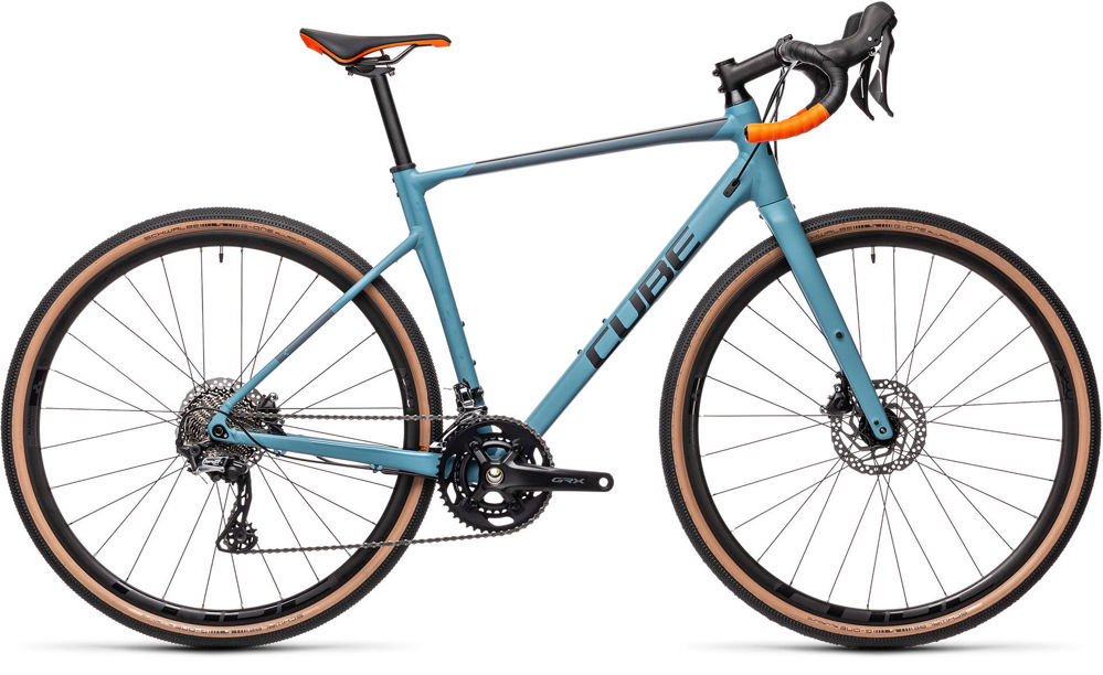 Picture of CUBE NUROAD RACE GREYBLUE´N´ORANGE 2021