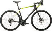 Picture of CUBE ATTAIN GTC RACE CARBON´N´FLASHYELLOW 2021
