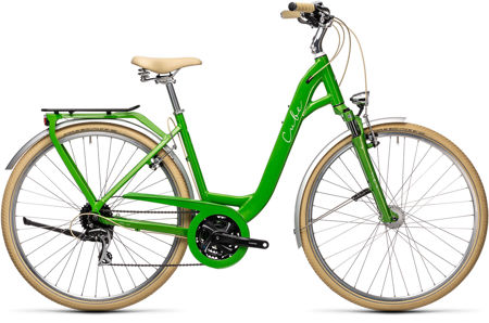 Picture of CUBE ELLA RIDE APPLEGREEN´N´WHITE 2021 EASY ENTRY