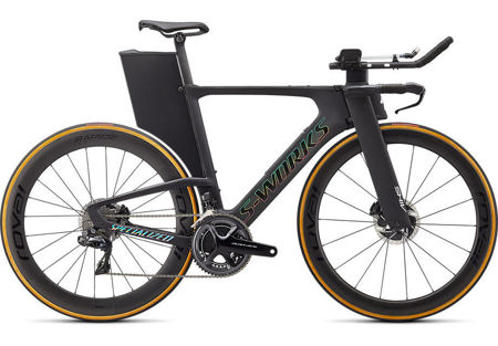 Picture of SPECIALIZED S-WORKS SHIV DISC 2020 Satin Carbon/Gloss Holographic Foil