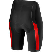 Picture of Castelli VELOCISSIMA 2 SHORT BLACK/RED