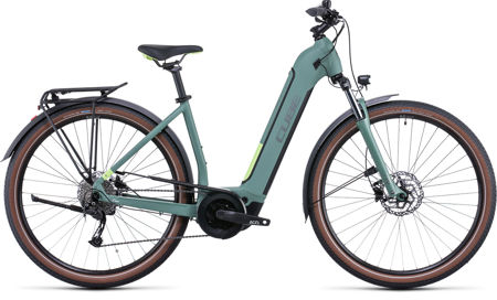 Picture of CUBE TOURING HYBRID ONE 400 GREEN´N´SHARPGREEN EASY ENTRY 2022