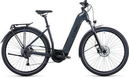 Picture of CUBE TOURING HYBRID ONE 500 GREY´N´BLUE EASY ENTRY 2022
