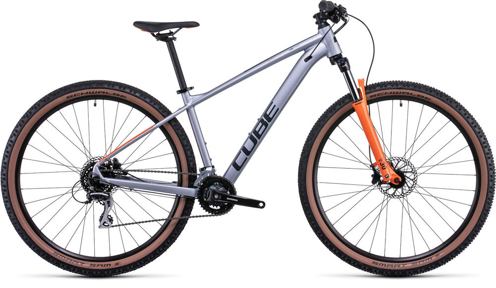 Picture of CUBE AIM RACE SILVER´N´ORANGE 2022